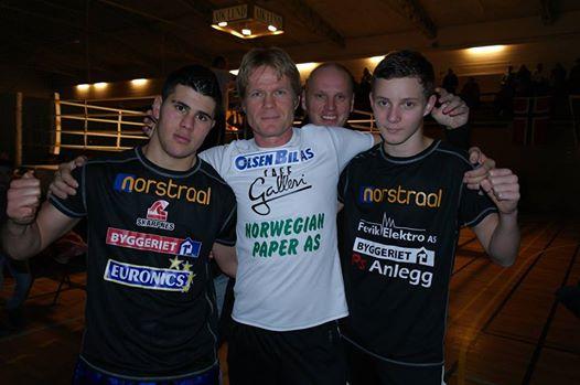 Mustafa, Henning og Thomas