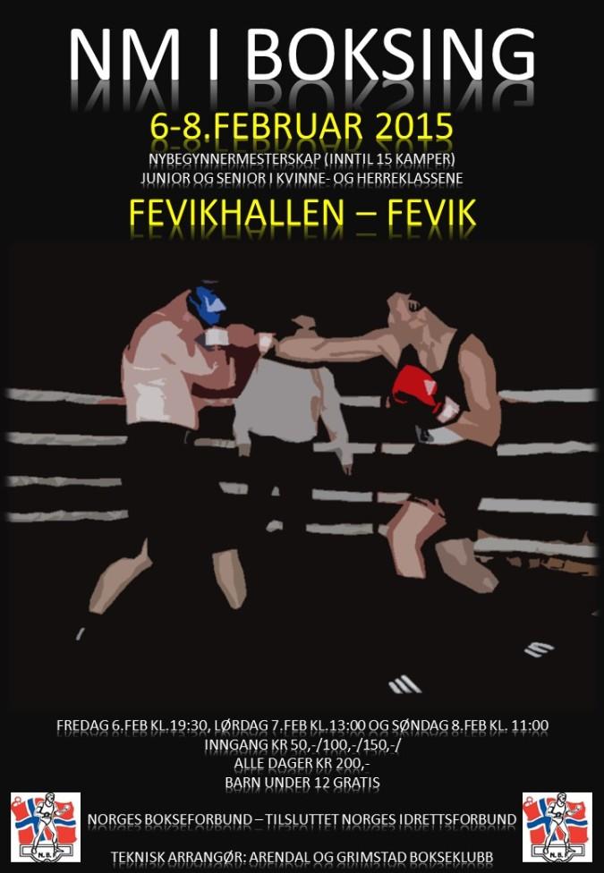Poster NM i boksing